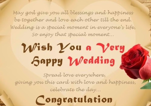 60 Marriage Wishes And Messages WishesGreeting Awesome Marriage Wishes Quotes