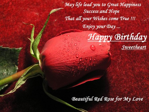 105 Cute Happy Birthday Sweetheart Sayings And Quotes Wishesgreeting