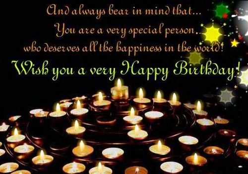 Birthday Wishes For Someone Special1