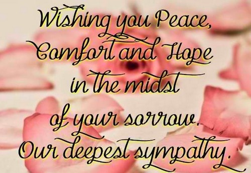 Condolence Quotes Beauteous The 48 Condolence Quotes WishesGreeting