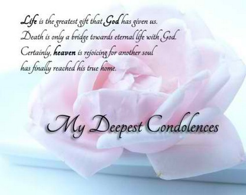 Condolence Quotes Fascinating The 48 Condolence Quotes WishesGreeting