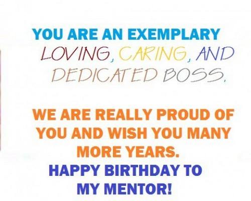 Happy Birthday Chief 85 Birthday Wishes For Cheif Aka Boss Happy Birthday Wishes To Mentor