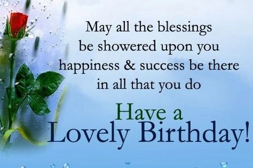 55 Beautiful Birthday Wishes and Sweet Messages – Lovely Birthday Greetings