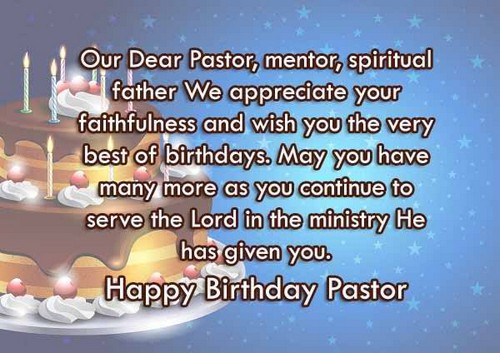 30 Happy Birthday Wishes for Pastor | WishesGreeting