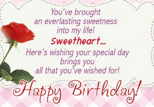 60 Romantic Birthday Messages for Special Someone from the Heart – Birthday Cards for Someone You Love