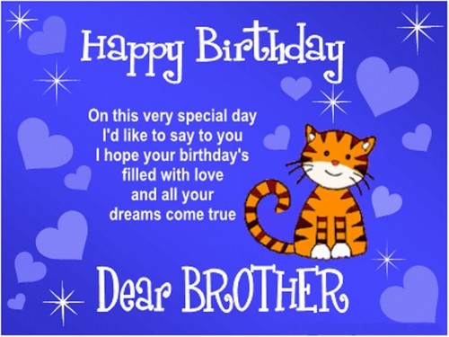Happy Birthday Brother Images Sms For Brother2 Brother5