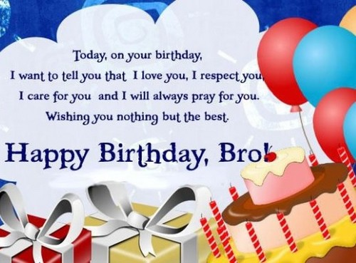 Birthday Sms For Brother7