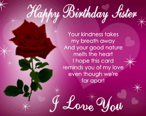 50 Birthday SMS for Sister with Heartfelt Wishes – Birthday Sms Greetings