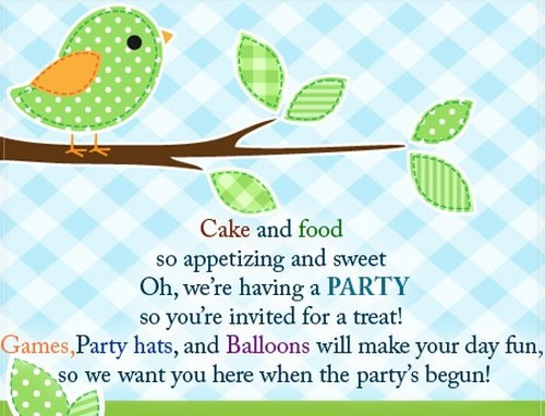 50 Birthday Invitation Sms And Messages Wishesgreeting