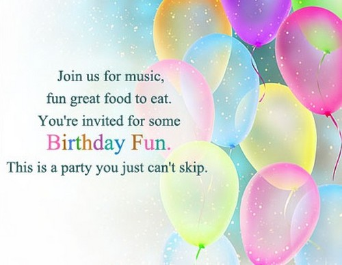 50 birthday invitation sms and messages to invite for birthday birthdayinvitationsms7 stopboris Gallery