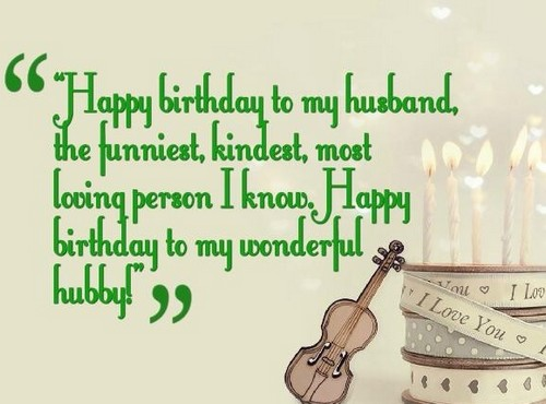 speech to my husband on his birthday