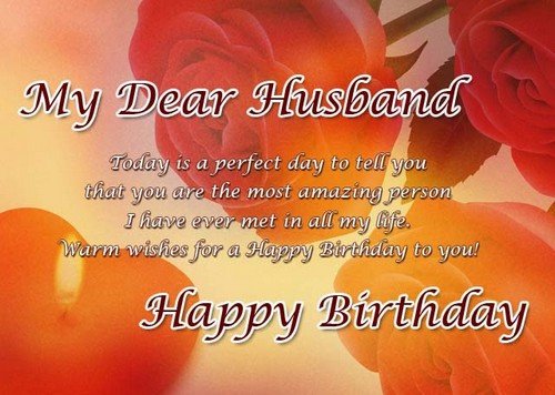 100+ Birthday SMS for Husband | WishesGreeting