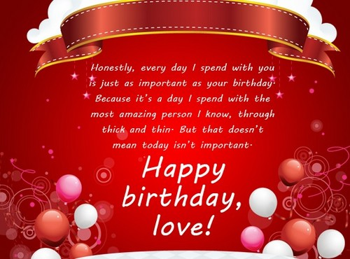 Birthday Sms For Lover2