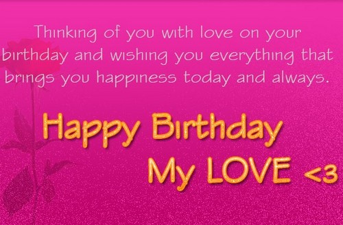 Birthday Sms For Lover3