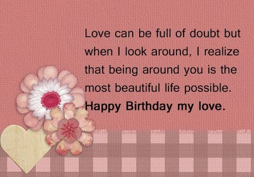 Birthday Sms For Lover6