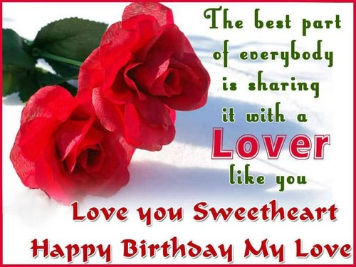 Birthday Sms For Lover7
