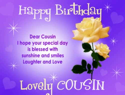 happy birthday to my beautiful cousin 40 Happy Birthday Beautiful Cousin | WishesGreeting happy birthday to my beautiful cousin