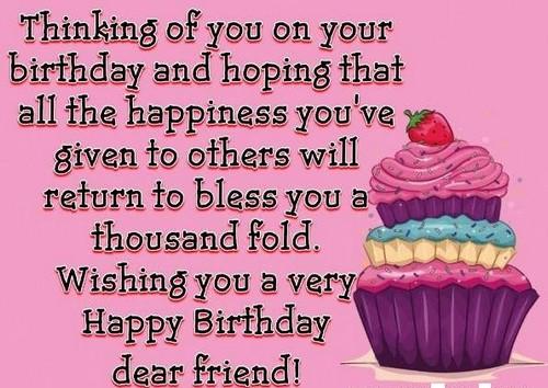 Happy Birthday Gorgeous Friend ~ Happy birthday my beautiful friend