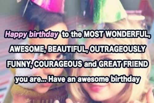 Happy Birthday My Beautiful Friend | WishesGreeting