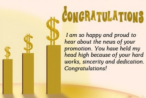 Congratulations On Promotion Message | WishesGreeting