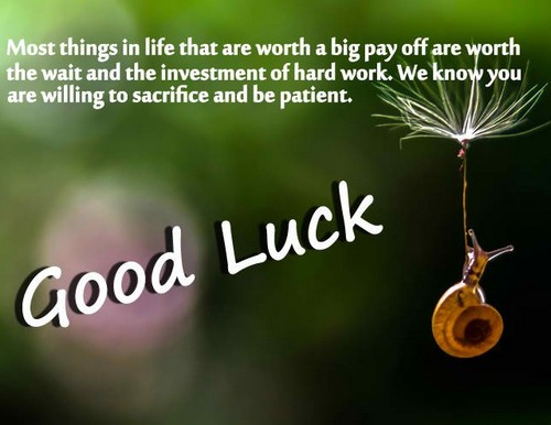Morning And Luck Messages Good Good tells