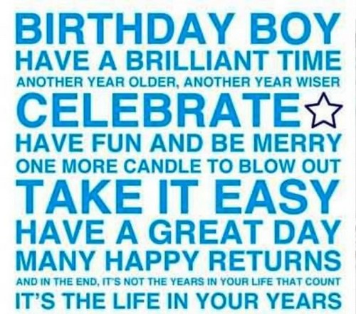 Happy Birthday Boy Wishes And Quotes