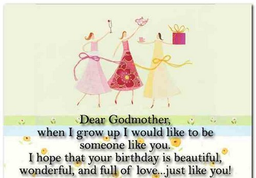The 60 Best Happy Birthday Godmother Quotes