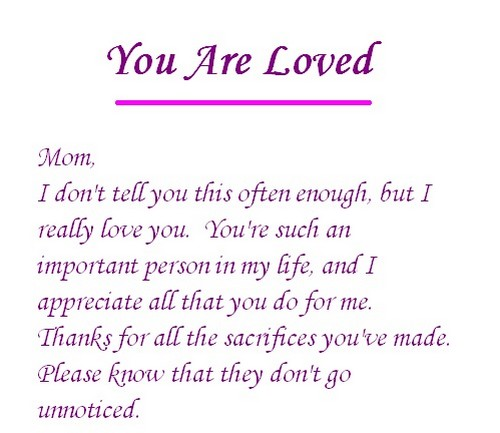 Cute Love Messages For Mom Wishesgreeting