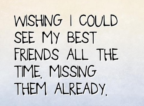 Missing Your Best Friend Messages