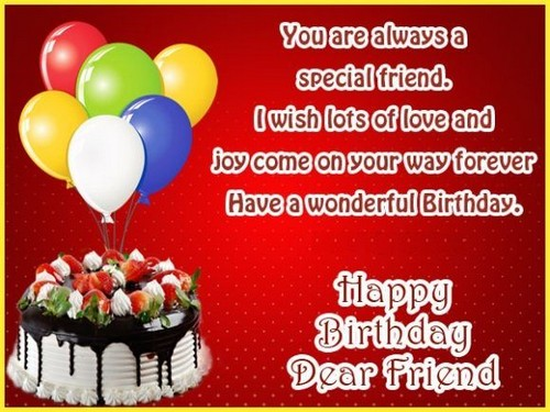 Never Let Me Go Free You Are Special Ecards Greeting: Birthday Wishes For Best Female Friend