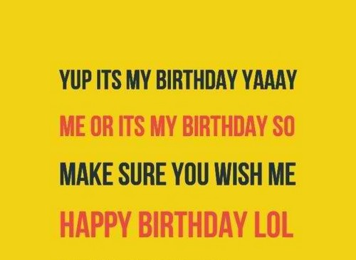 55 Short And Funny Birthday Wishes For Myself To Share On Facebook Wishing Myself A Happy Birthday