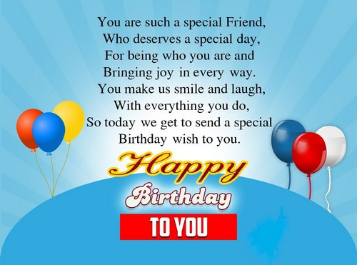 Birthday Wishes For Special Friend6