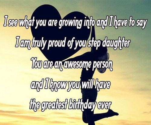 Cool Birthday Wishes For Step Daughter Wishesgreeting Personalised Birthday Cards Paralily Jamesorg