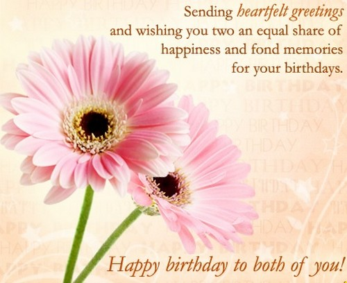 40 happy birthday twins wishes and quotes wishesgreeting happybirthdaytwins3 m4hsunfo Choice Image
