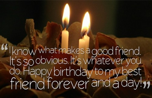 Cute Happy Birthday Quotes for Best Male Friend in the World