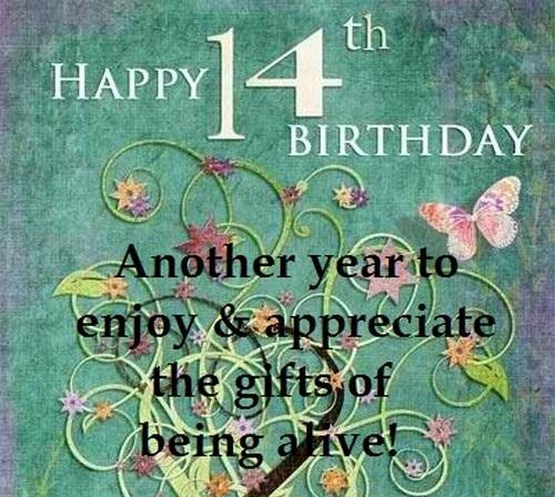 Happy 14th Birthday Quotes6