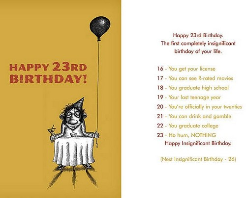 23rd Birthday Quotes Happy 23rd Birthday Quotes | WishesGreeting 23rd Birthday Quotes
