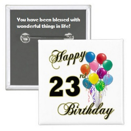 Happy 23rd Birthday Quotes | WishesGreeting