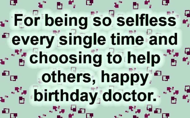 40 Happy Birthday Doctor Wishes Wishesgreeting