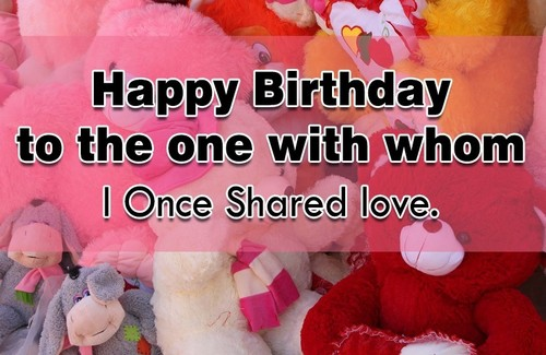 45 Happy Birthday Ex Boyfriend Wishes | WishesGreeting