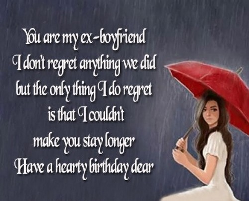 45 Happy Birthday Ex Boyfriend Wishes Wishesgreeting
