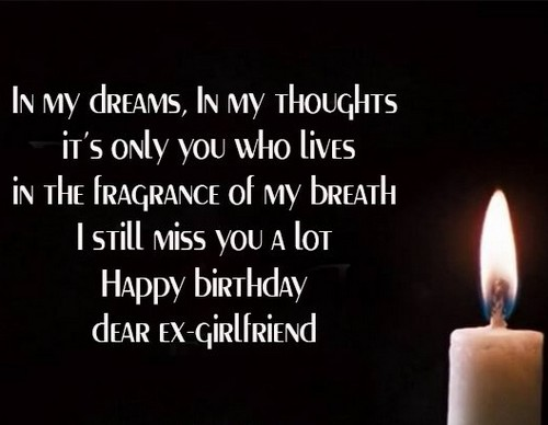 happy birthday letter to ex girlfriend 30 happy birthday ex quotes wishesgreeting 25787 | happy birthday ex girlfriend3