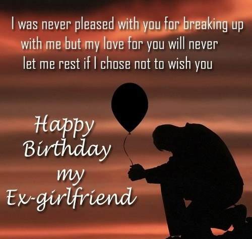 30 Happy Birthday Ex Girlfriend Quotes | WishesGreeting