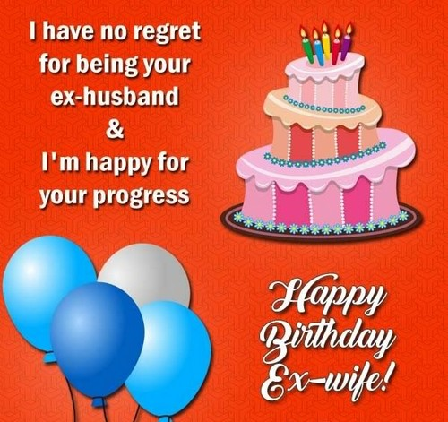 Happy Birthday Ex Wife Quotes Wishesgreeting