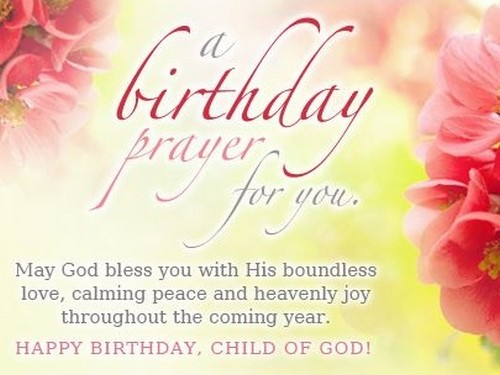 Image result for birthday prayer
