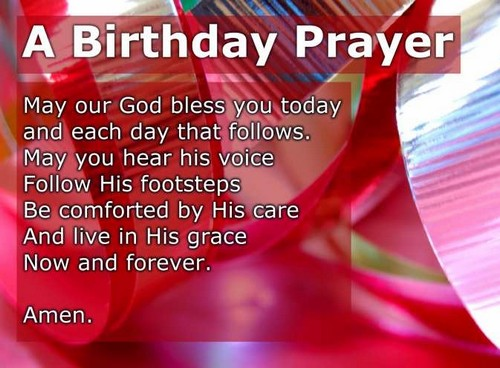 40 Happy Birthday Prayers