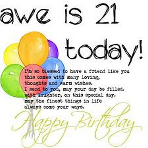 21st Birthday Quotes Magnificent 48st Birthday Quotes And Wishes WishesGreeting