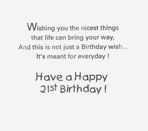 21st Birthday Quotes Best 48st Birthday Quotes And Wishes WishesGreeting