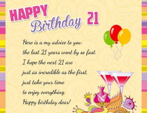 21st Birthday Quotes Beauteous 48st Birthday Quotes And Wishes WishesGreeting