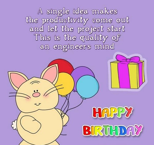 Birthday Wishes For An Engineer | WishesGreeting